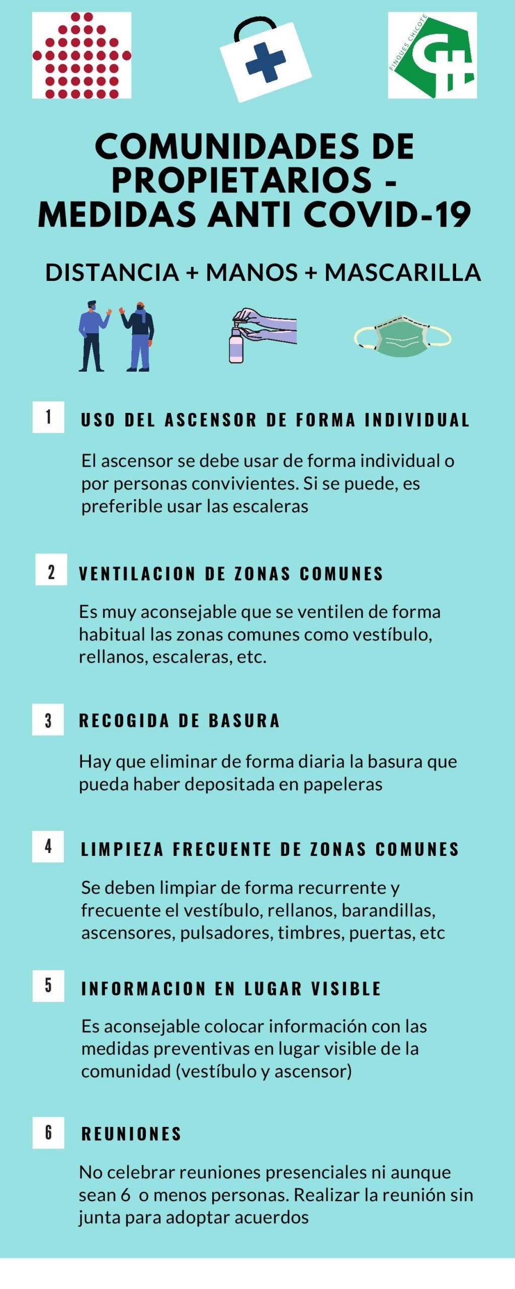 comunidades de propietarios - medidas anti covid-19-administrador fincas propietarios barcelona